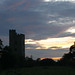 Small photo of Sunset and Kyme Tower