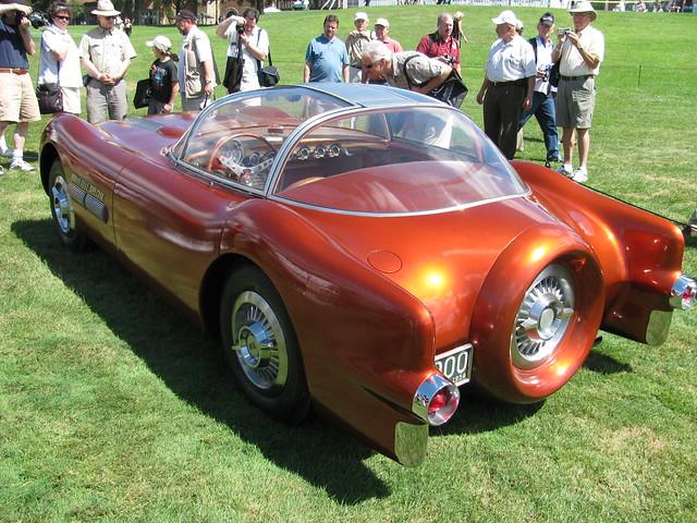1954 Pontiac Bonneville Special rear
