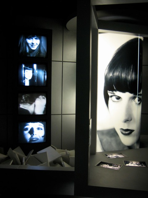 Louise Brooks Corner at Filmhaus