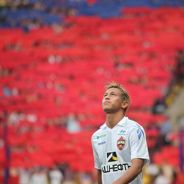 Keisuke Honda, FC Spartak Moscow vs PFC CSKA Moscow.