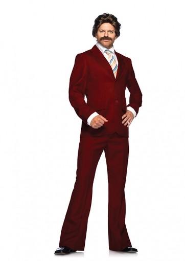 Burgundy Dress Suit