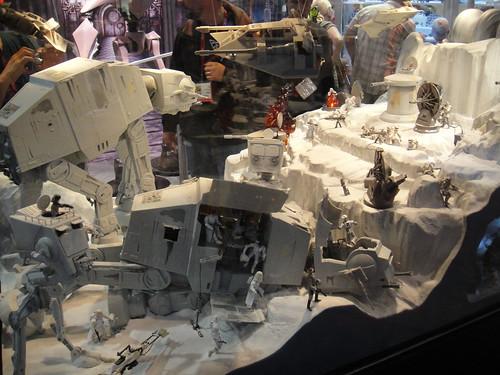 Hoth Battle Wallpaper Back Hoth Battle Diorama