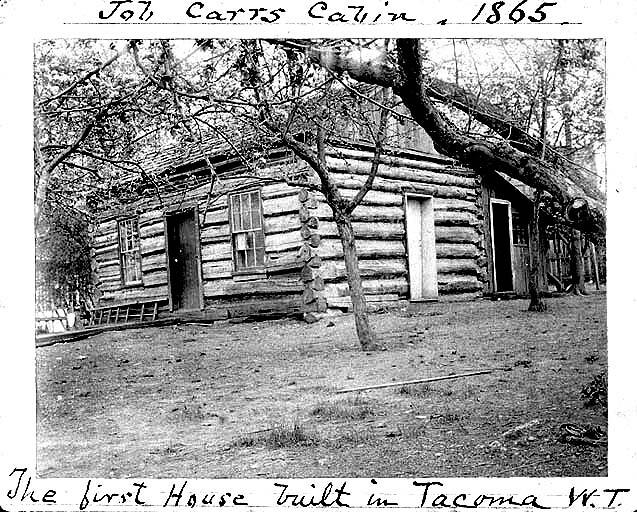 Job Carr Cabin And Post Office Tacoma Washington