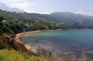 La plage rouge à Ziama Mansouria , Jijel ,Algérie-Algeria