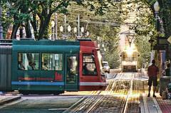 portland streetcar and max