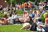 Instigators at harbouside Park Audience