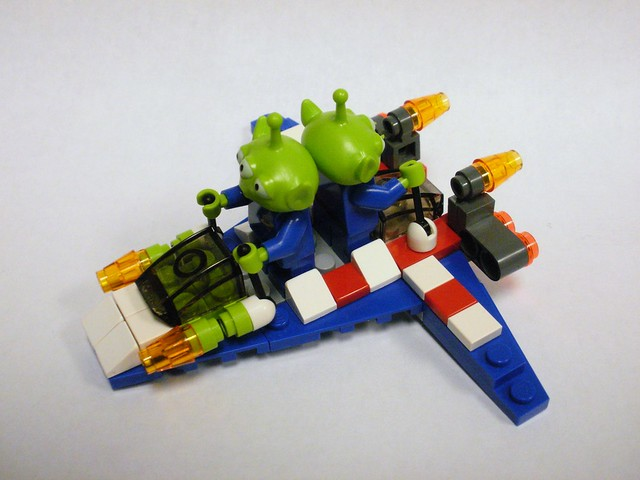 Lego Toy 3 : Lego toy story alien quot seater flickr photo