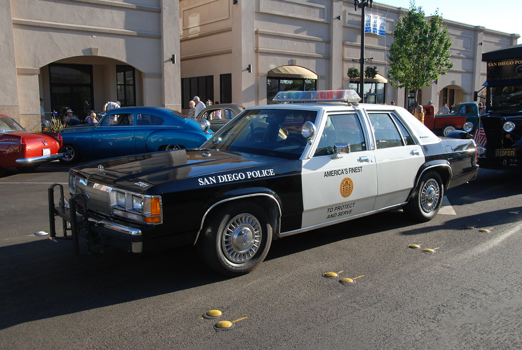 San Diego Police Department Sdpd Ford Crown Victoria
