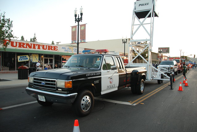 El Cajon Police Department Ford Dually Pickup Truck With