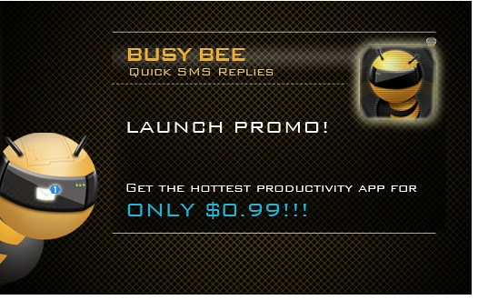 "Data Calibre's innovative team brings their first iPhone App ""Busy Bee"""