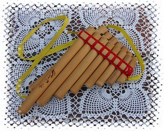 Andean panflute, or zampoña (my ...