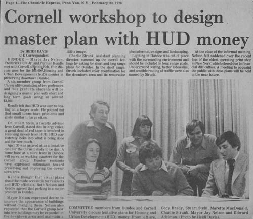 Dundee workshop newspaper clipping