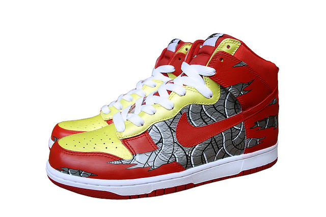 Ironbot Dunk High