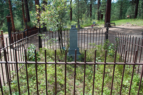 idaho idahocity boisecounty bannockcity westbannock nationalregisterofhistoricplaces 75000626 boisebasin pioneercemetery cemetery 1863 mining goldrush