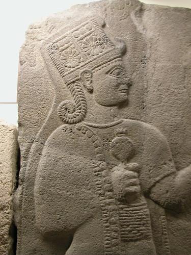 DSCN7730 Bas-relief néo-hittite, détail