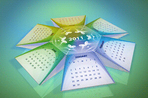 2011 Calendar Hexahedral