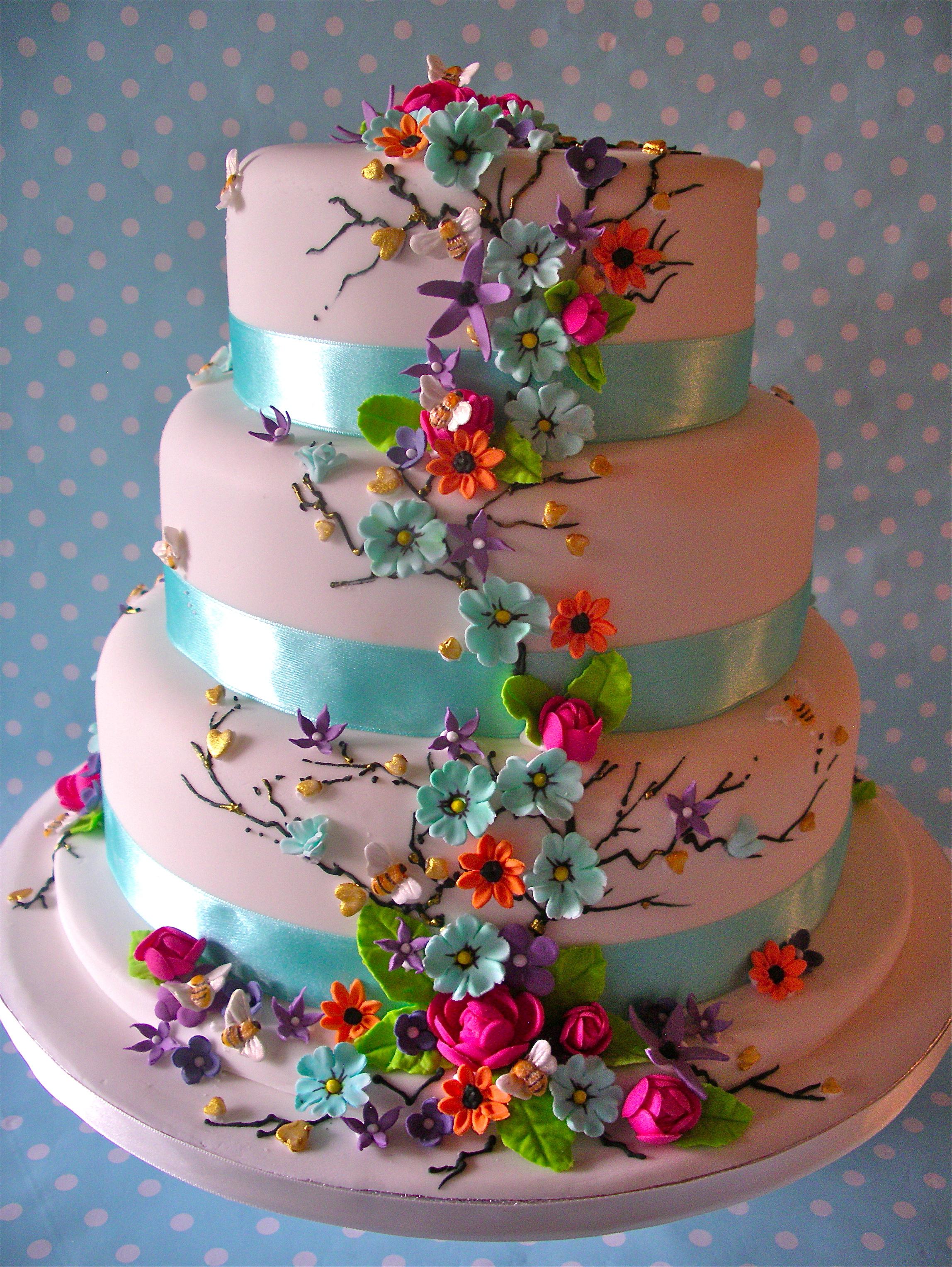 Summer Daze wedding cake