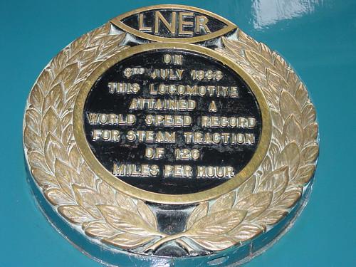 LNER 4468 Mallard Speed Record