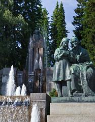 Näsikallio fountain