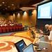 Lun, 16/08/2010 - 11:32 - El director xeral de I+D+I de la Xunta, Ricardo Capilla, con el experto en innovación Xavier Marcet inaugurando en Tecnópole el curso de formación de los 61 futuros gestores de innovación de Galicia (Rede XIGA).