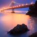 The Bay Bridge...illuminated by Jared Ropelato