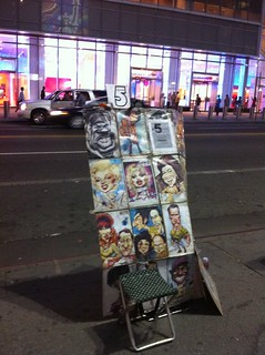 Caricatures, near Times Square, New York, NY US