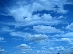 Blue skies, do I see