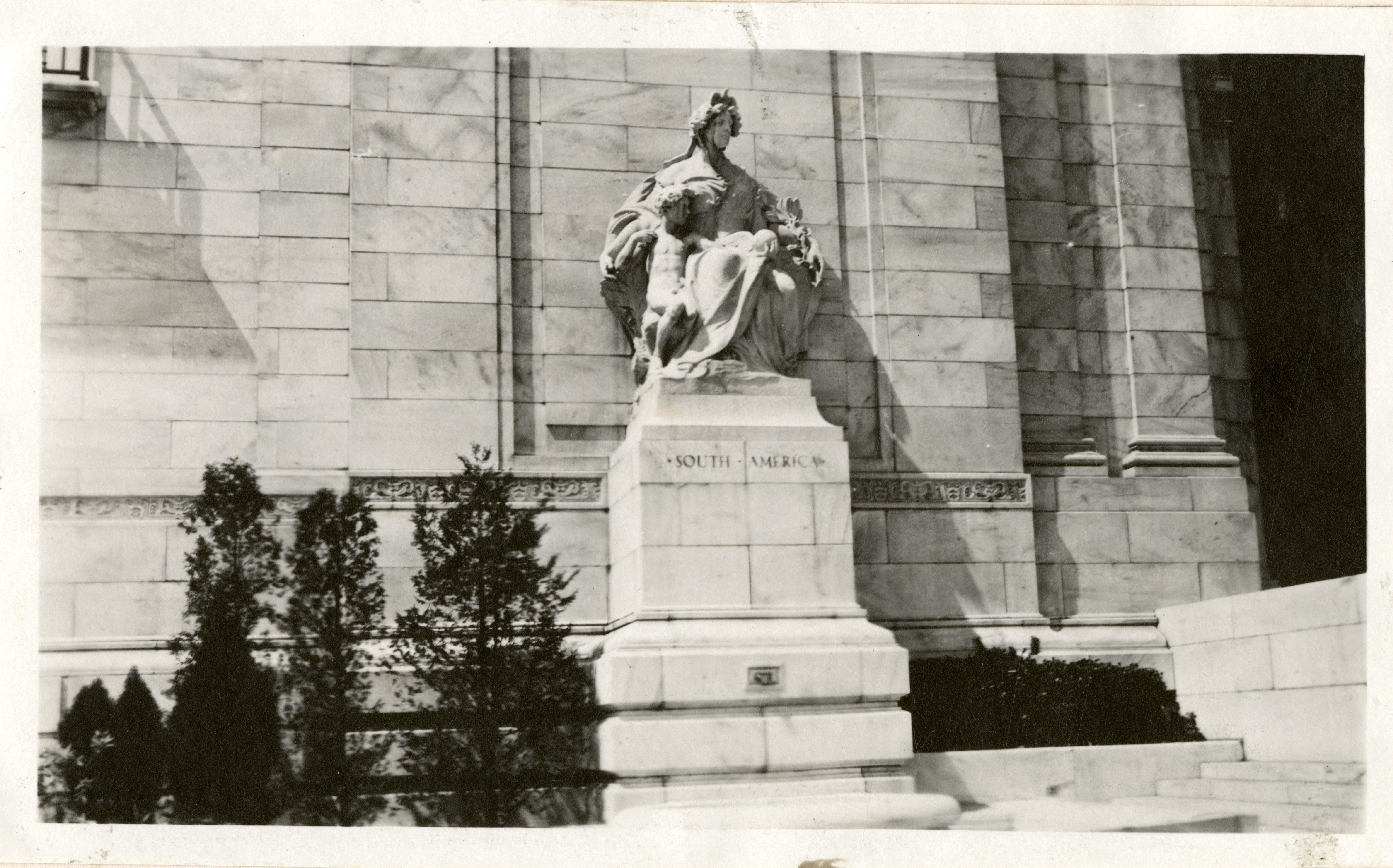 South America Statue
