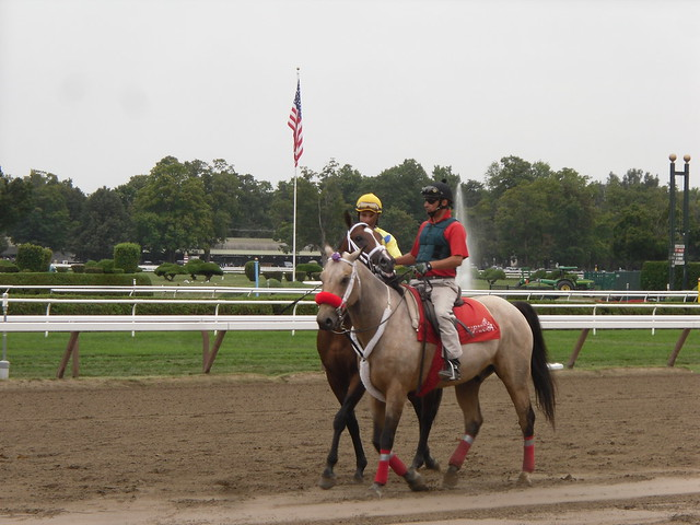 Saratoga Race Course by CC user dougtone on Flickr