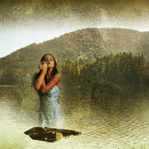 mountain lake forest fantasy zedzap