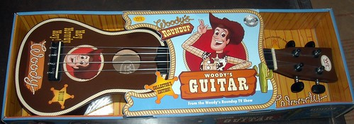 woody 39 s round up toy guitar from toy story 3. Black Bedroom Furniture Sets. Home Design Ideas