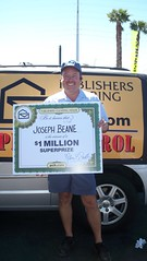 Joseph Beane and his $1 Million Prize! | Another shot of Jos