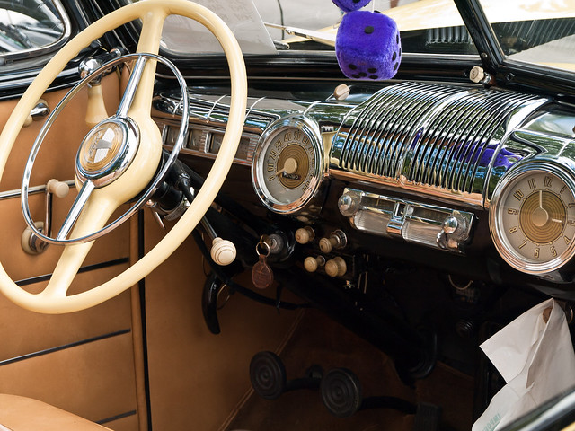 1948 Ford front interior : Flickr - Photo Sharing!