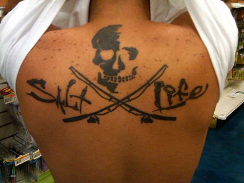 Salt life tattoo flickr photo sharing for Salt and light tattoo