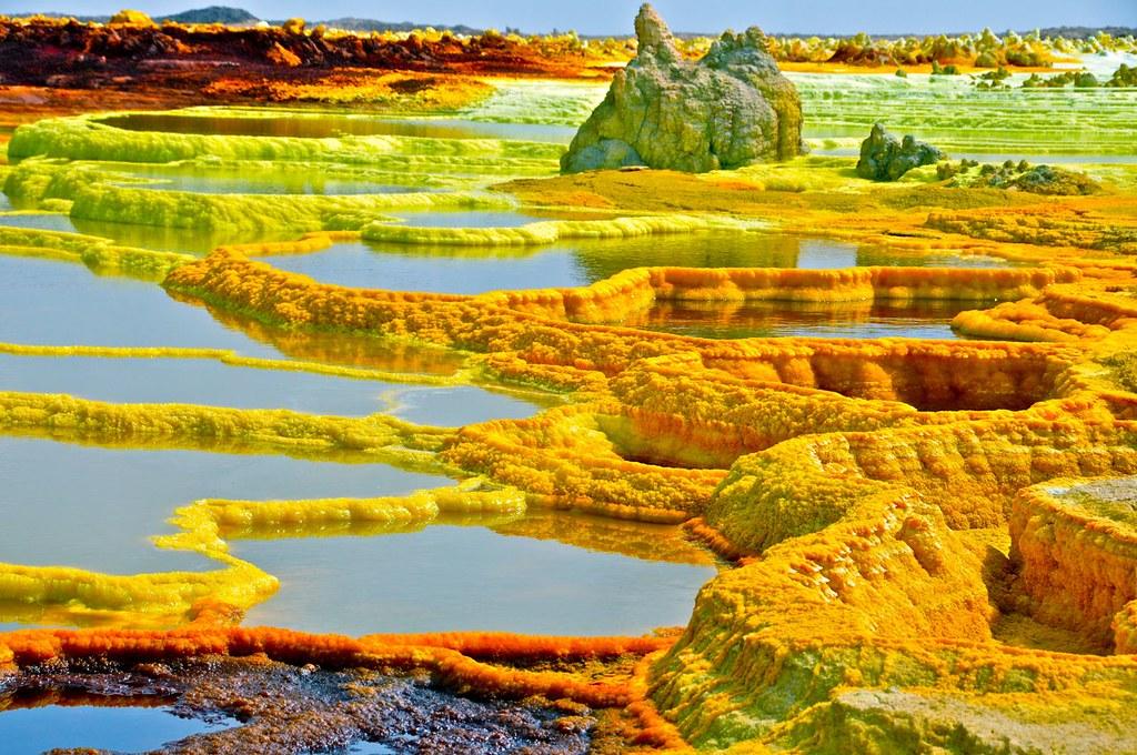 Zona de Dallol (Etiopia
