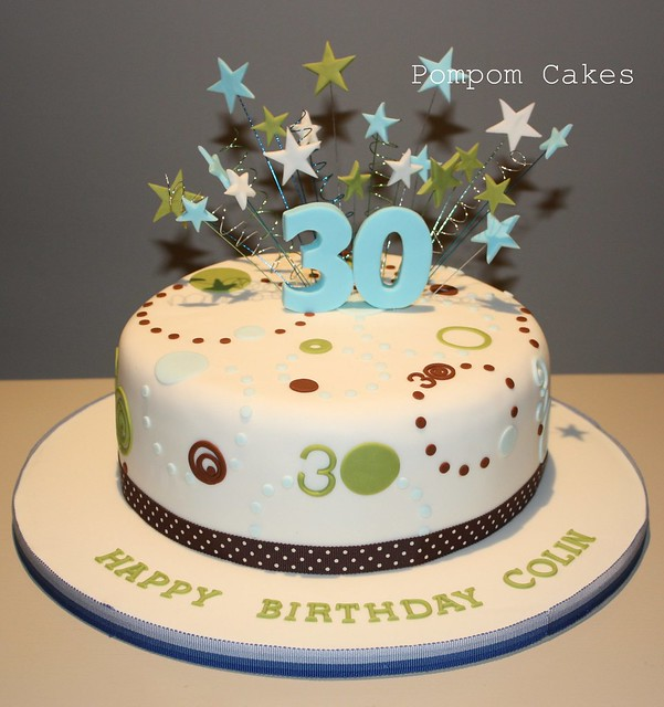 Decorating Ideas > 30th Birthday Cake  Flickr  Photo Sharing! ~ 025402_Cake Decoration Ideas For A Man