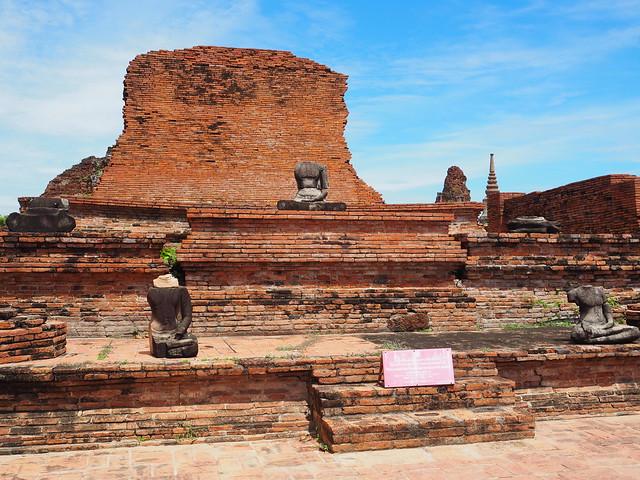 P6222665 ワット・マハータート(Wat Mahathat/วัดมหาธาตุ) アユタヤ タイ thailand 世界遺産