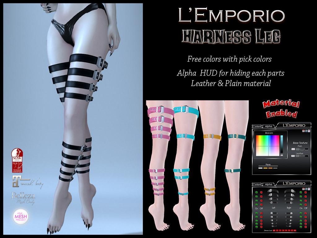 Harness Leg - SecondLifeHub.com