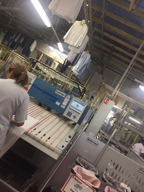 La MEE en visite préparatoire à la blanchisserie des hospices civils de Lyon