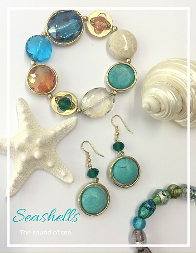 Jewellery Turquoise Teal Sea LadyofStyle