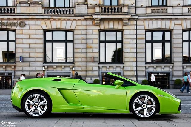 green power lamborghini gallardo spyder - Lamborghini Gallardo Spyder Green