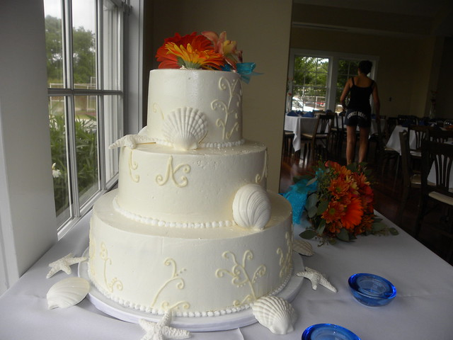 Beach Wedding Cakes SouthPort NC Community Building
