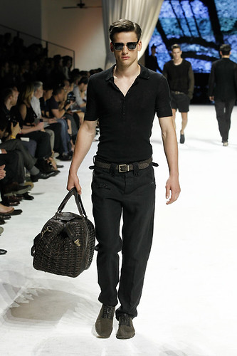 Dolce & Gabbana Man Fashion Show handsome man model