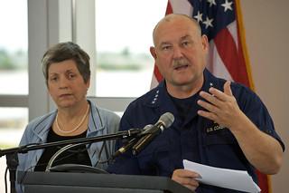 Secretary Napolitano and Admiral Allen