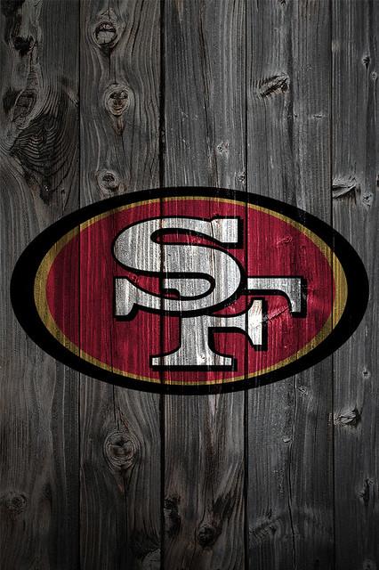 San francisco 49ers wood iphone 4 background flickr - San francisco iphone wallpaper ...