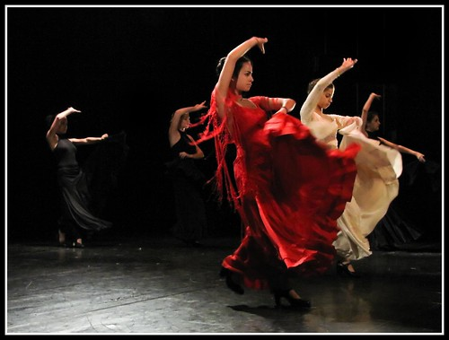 Flamenco Dancers in Action II