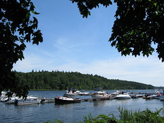 Boats in the Merrimack River