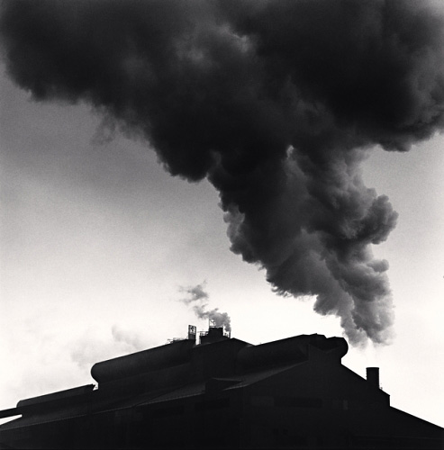 The Rouge, Study 10, Dearborn, by Michael Kenna 1993