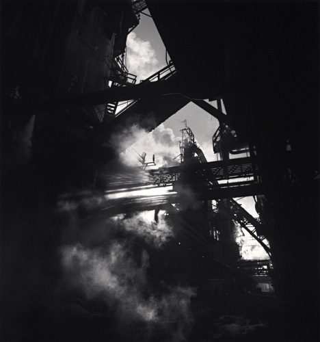 The Rouge, Study 98, Dearborn, by Michael Kenna 1995
