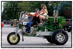 vehicle, mode of transport, motorcycle, land vehicle, tricycle,